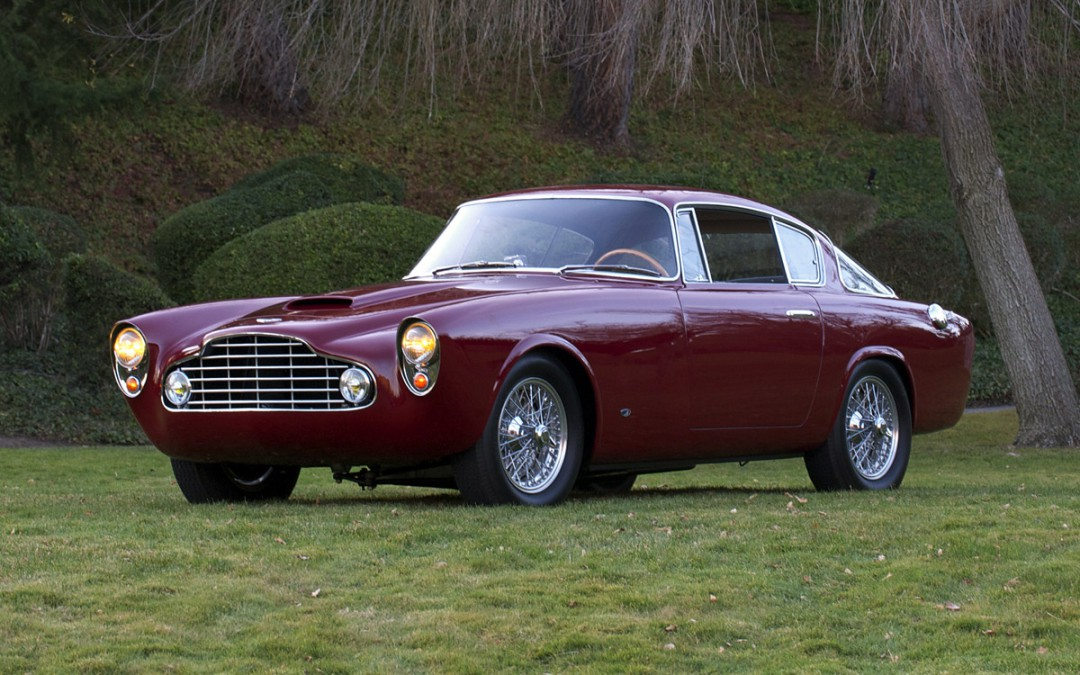 Featured Car Aston Martin DB Allemano Coupe Danville - Aston martin db2