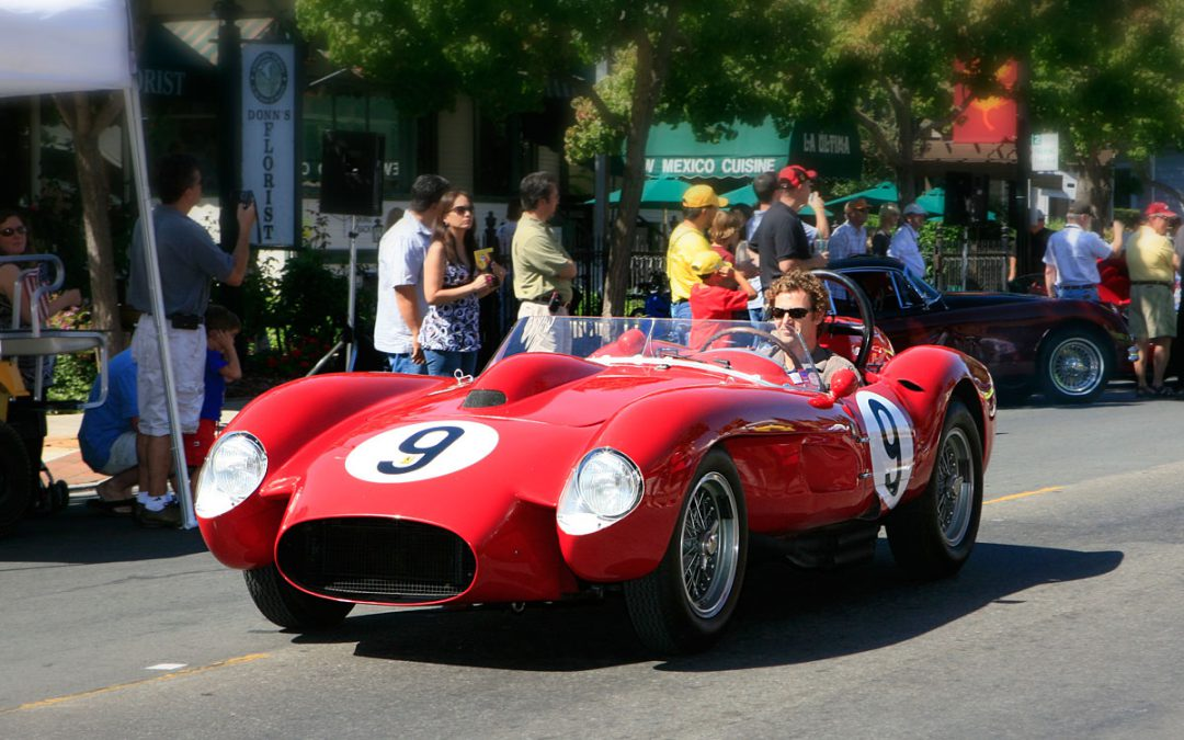 2009 Featured Car 1958 Ferrari 250 Testa Rossa Danville D