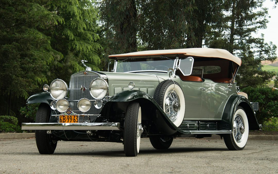 2017 featured car 1930 cadillac v16 dual cowl sport