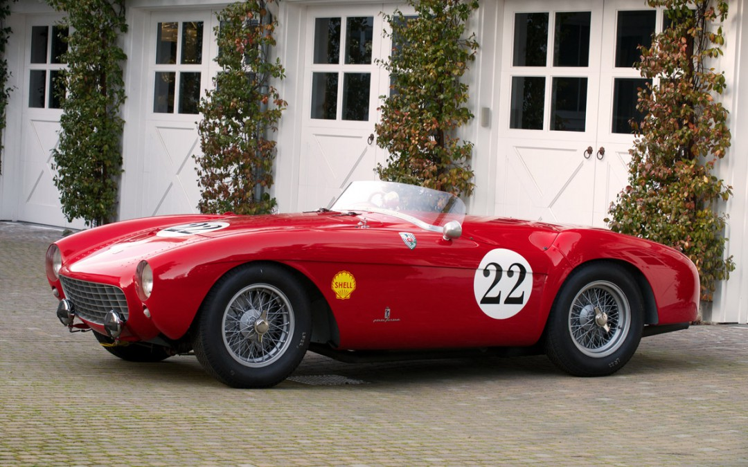 2013 Featured Car: 1954 Ferrari 500 Mondial Spyder Pininfarina