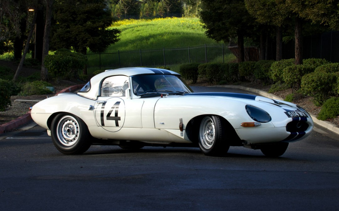 2014 Featured Car: 1961 Jaguar/Cunningham E-Type Lightweight Roadster